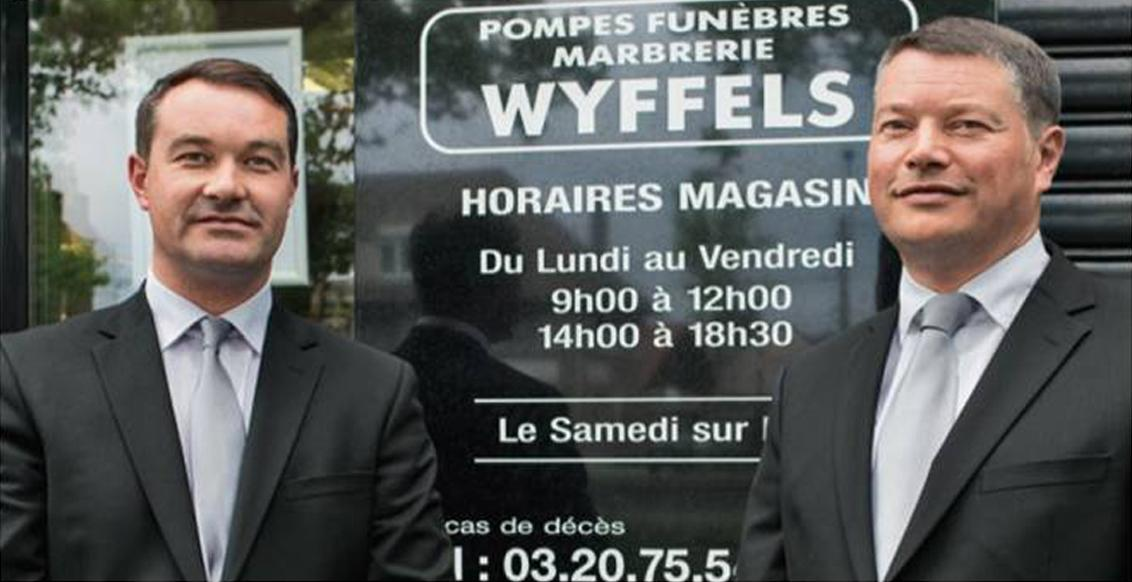 Pompes funèbres marbrerie wyffels